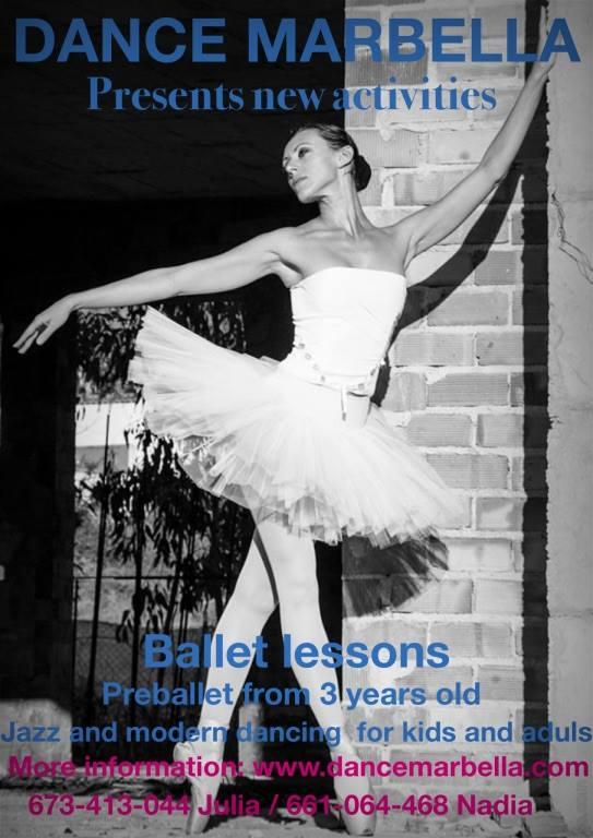 Ballet at dance Marbella