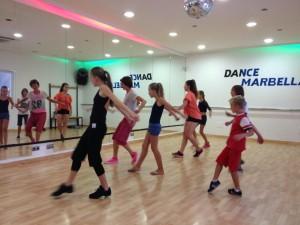 Modern Dance and Hip Hop at Dance Marbella