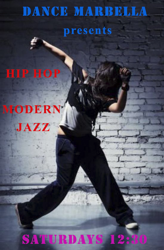 dance marbella, Dance Marbella, Hip Hop at Dance Marbella, Modern Dance, Modern Jazz,