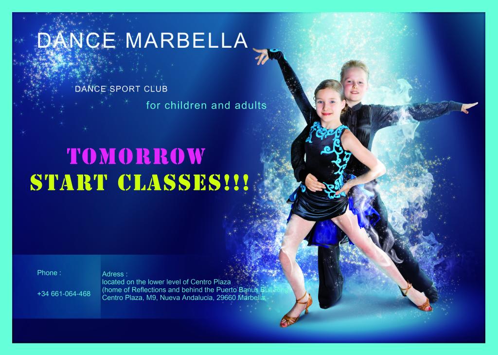 "Dance Marbella, dance classes at Marbella, dance sport club ""DANCE MARBELLA"""