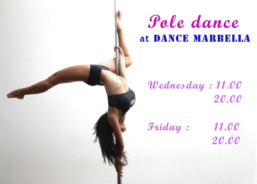 dance marbella, Pole Dance at DANCE MARBELLA