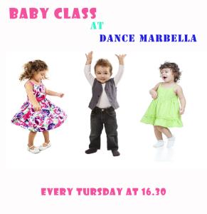 baby dance classes, baby classes, baby dance classes at dance marbella, Dance Marbella,