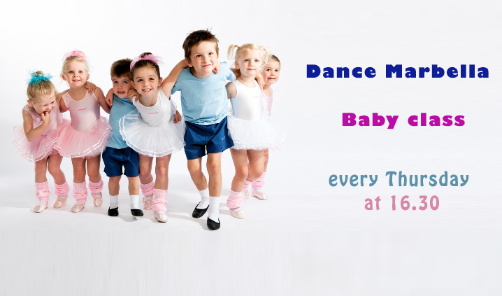 baby classes, dance classes for baby, dance marbella, dance classes at Dance Marbella for babies ,