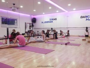 dance marbella, DANCE MARBELLA, stretching, dance school, dance classes in Marbella,
