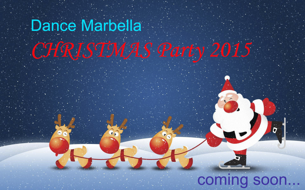 Dance Marbella christmas party 2015