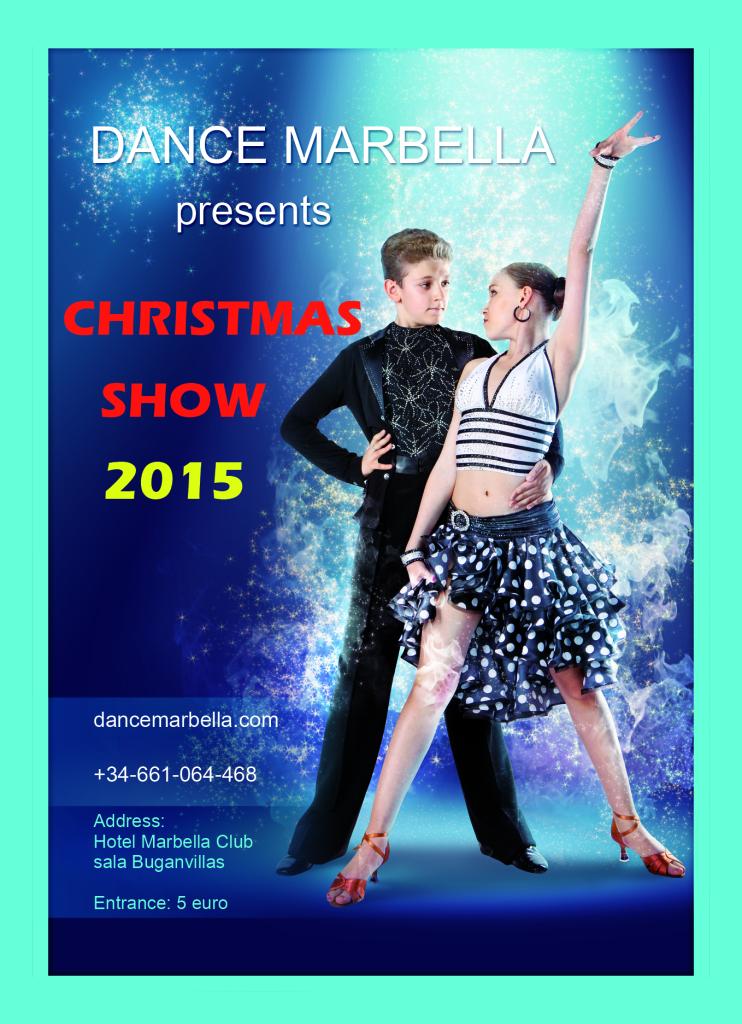 dance marbella, dance marbella christmas show 2015,