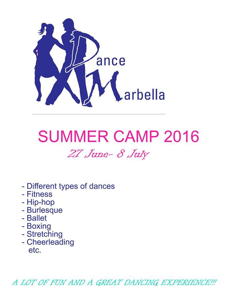 Dance Marbella SUMMER CAMP 2016